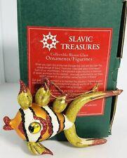 Slavic Treasures Retired Glass Ornament - Fish