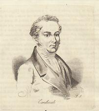 Clemente Cardinali 1840 incisione in rame