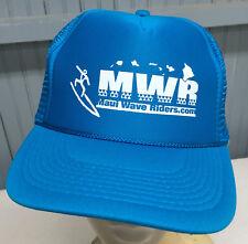 Maui Hawaii Wave Rider Surfing Mesh Trucker Snapback Baseball Cap Hat
