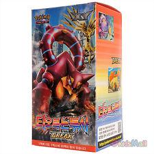 Pokemon TCG XY Steam Siege Fever-Burst Fighter Korean Booster Pack 150 Cards Box