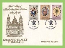 Elizabeth II (1952-Now) Royalty British Colonies & Territories First Day Cover Stamps