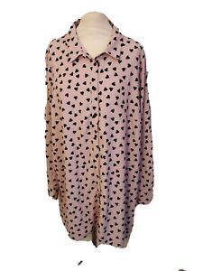 ladies Long Sleeve Blouse plus size 22 24  EVANS