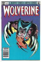Wolverine # 2 Marvel Comics Limited mini Series 1982 Frank Miller Mariko Yukio