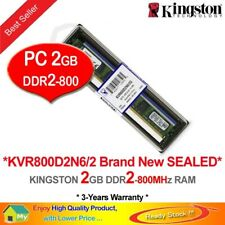 Kingston 2GB DIMM 800 MHz PC2-6400 DDR2 SDRAM Memory (KVR800D2N6/2G)