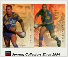 1996 Dynamic Rugby League Cards Series 3 Signature Gold Promo Card (1)