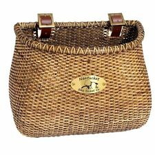 Nantucket Lightship Classic Basket 12''X7.5''X9'' Stained