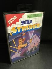 Strider  - Sega Master System Game 1989 - Excellent Condition - BOXED & COMPLETE