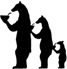 Bear Family - Window sticker Car RV Truck ATV Hunting Outdoor Vinyl Decal