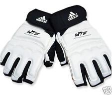 WTF ADIDAS Open Finger Gloves MMA TaeKwonDo Kukiwon Boxing Punch Protection Pad