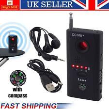 NEW Anti-spy bug detector RF segnale Nascosto Obiettivo Fotocamera Dispositivo GSM TRACCIANTE FINDER