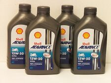7,04€/l Shell Advance Ultra 4T 15W-50 4 x 1 L