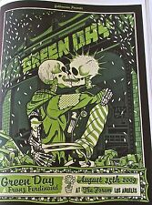 Green Day Mini-Concert Poster for Los Angeles CA Concert Gig 14x10 Unsigned