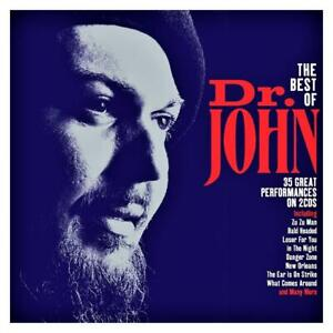 DR. JOHN - THE BEST OF - 35 GREAT PERFORMANCES  (NEW SEALED 2CD Digipak)