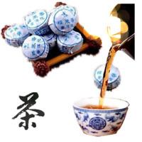 100g Chinese Ripe Puer Tea Pu-erh Tuo Tea Yunnan Mini Puerh Ball Tea Black Tea 茶