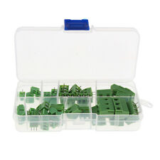 40x 2P 3P PCB Mount Screw Terminal Block Connector 2.54mm 3.81mm 5.0mm 7.5mm