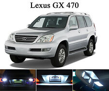 LED for Lexus GX 460 470 Xenon White License Plate/Tag LED Lights Bulbs (2 pcs)