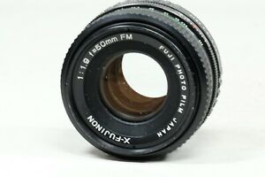 Fujinon X 50mm f1.9 FM Lens Fuji X FILM MOUNT