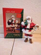 """POSSIBLE DREAMS Nick's Nook #4209 """"Santa's A List"""" Santa MINT"""