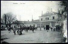 FRANCE ~ 1900's VIERZON ~ La Gare   RAILROAD TRAIN STATION