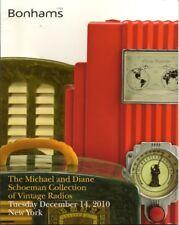 BONHAMS Vintage Radio Fada Garod RCA Schoeman Collection Auction Catalog 2010