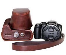 Ever Ready Camera PU Leather Bag Case Cover For Leica V-LUX4 Panasonic DMC-FZ200