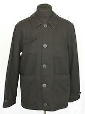 Ralph Lauren Denim & Supply Black Wool Button Up Jacket Sz L/G