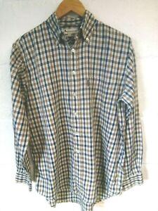 """Aquascutum house check shirt M/42""""-44""""chest"""
