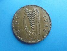 Ireland 1948 PENNY, Excellent Condition.