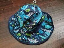 CIRCO 18m Baby Toddler Summer Hat  FISH & SHARKS Blue