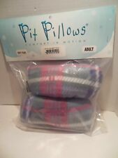 NIP Underarm Crutch Pad Covers Soft Plaid Pink Purple Gr Arm Pit Pillows Comfort