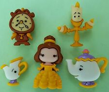 BELLE & Friends belle et la Bête-Disney Dress It Up Craft Boutons