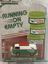1972 VW T2 Panel Van 1:64 Scale Running on Empty Greenlight 41090D