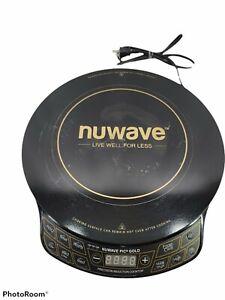 NuWave 30211 1500W Precision Induction Cooktop Gold- Black