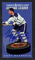 Andy Bathgate #174 signed autograph auto 1994 Parkhurst Tall Boy Hockey Card
