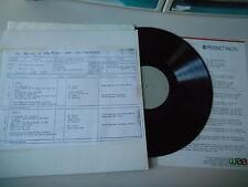 LP POP Chevalier Brothers-Jump and Jive (12) canzone WEA testpress/presskit