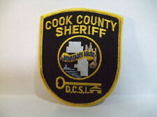 police patch  COOK COUNTY SHERIFF ILLINOIS DCSI CORRECTIONS