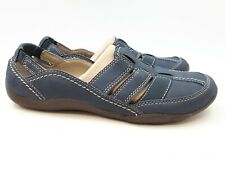 Clarks Women's Closed Toe Sandals: Haley Stork | Sport | Navy | Size 9 (SH59)