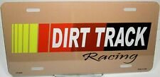 Novelty License Plates Hot Rod Dirt Track Racing tags.Aluminum auto tag LP-2006