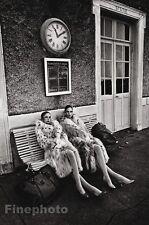 1978 Vintage 11x14 FEMALES Fashion Mink Fur Coat Photo Gravure By JEANLOUP SIEFF