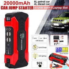 Cargador de Coche Jump Starter 20000mAh Portátil Banco de Alimentación con flash de LED luz Usa