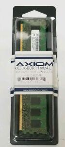 Axiom Memory Solutions AX31600R11W/4L DDR3L 4 GB DIMM 240-pin