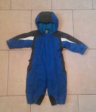 REI snow suit,waterproof,fleece lined,insulated,full zip, boys 12 mos,one piece