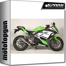 SPARK ESCAPE MOTO-GP RACING TITANIO KAWASAKI NINJA 300 I.E. 2013 13 2014 14