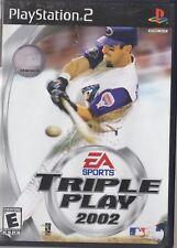 Triple Play 2002 (Sony PlayStation 2, 2002)