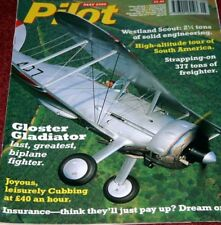Pilot Magazine 2000 May Westland Scout,Gladiator,Cathay Pacific,Piper Cub