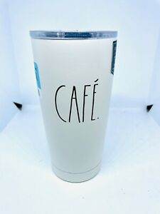 RAE DUNN 500ML STAINLESS STEEL INSULATED  CAFÉ TUMBLER MUG THERMOS CUP NEW RARE