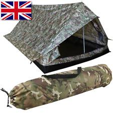 KOMBAT UK Trooper 2 Man Tent In Camo / Carp Fishing Bivvy Lightweight Shelter