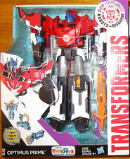 Transformers Robots in Disguise OPTIMUS PRIME FIGURE EXCLUSIVE 3 STEP CHANGER