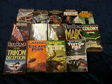 A COLLECTION OF 14 SCI-FI BOOKS by BEN BOVA  ** UK FREEPOST ** PAPERBACKS