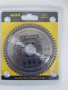 "5"" (125mm) X 60teeth Circular Saw Blade . Aluminium/plastic  Saw Blade"